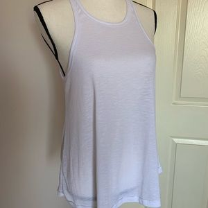 Free People Cotton Ribbed Tank Top MED.
